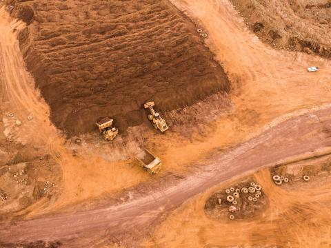 Nickel mining in the Great South of New Caledonia (©SPC)