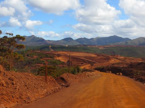 Nickel mining, Great South of New Caledonia (©SPC)