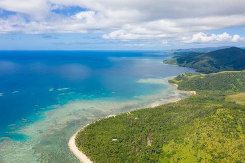 Typical coastal landscape in the Pacific (©SPC)